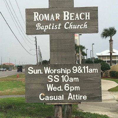 AL, Orange Beach, Romar Baptist Church - 1