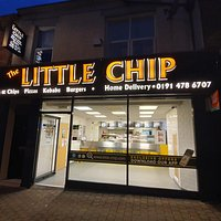 Shop front of The Little Chip