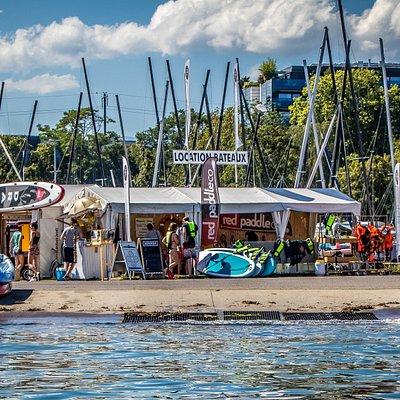 Base location bateaux