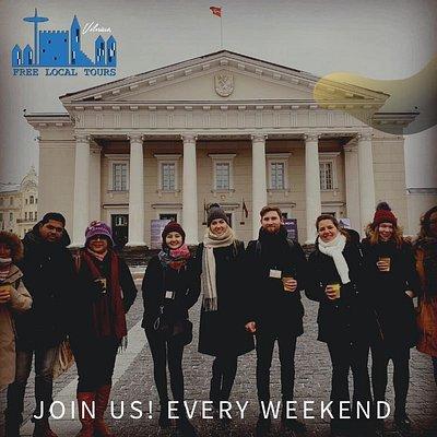 Vilnius free City Tour with Free local tours team! www.freelocaltours.com