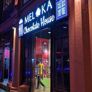 Inside Melaka Chocolate House