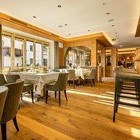 Restaurant und barbereich