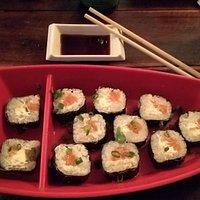 Muy rico el sushi!