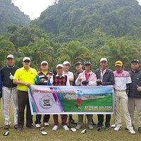 Group in Phoenix Golf, Vietnam