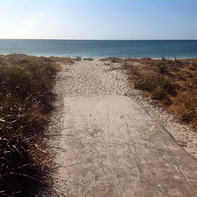 Beach access for Wonnerup Beach