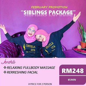 Nice spa with affordable package.