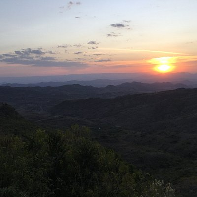 Sunset from Old Abyssinia Lodge