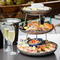 Seafood tower. Both Chilled and Grilled available!