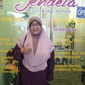 Jendela spa Freeport Afamosa Outlet provide variety of services from head to toe with affordable price & the location so strategic.👍