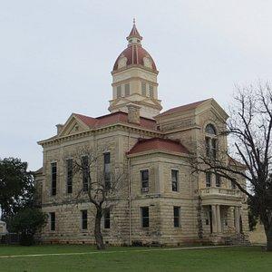 1890 Bandera County Courthouse, TX , Feb 2020