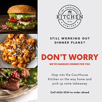 We cater to vegetarian, gluten-free and offer takeaway