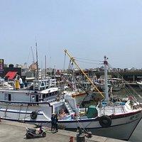 豐漁橋船影