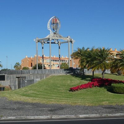 Fountain On The Roundabout i Los Cristianos