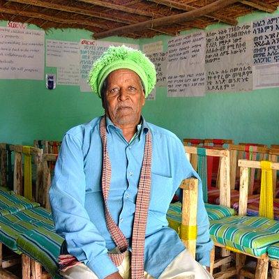 Zumra Nuru the founder of Awra Amba community.