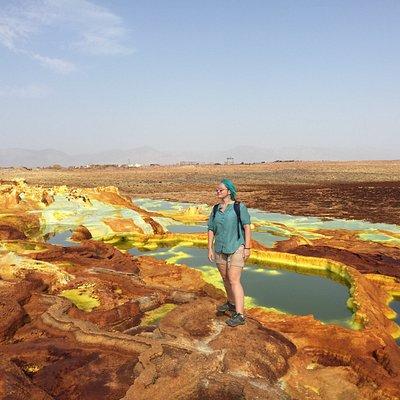 In Danakil desert
