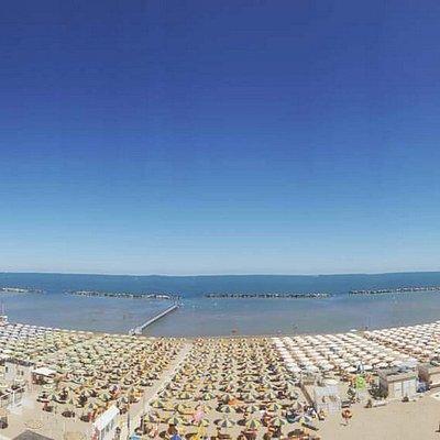 Panoramica Spiaggia Afrika Beach Bagno 77/78/79 Bellaria Igea Marina (Rimini)