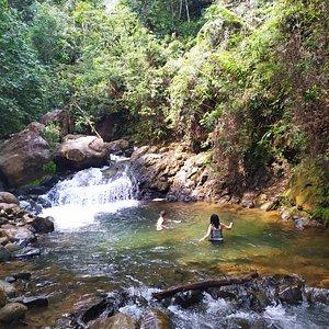 El Río San Pablo en Jamundí, ofrece hermosos charcos para disfrutar en familia