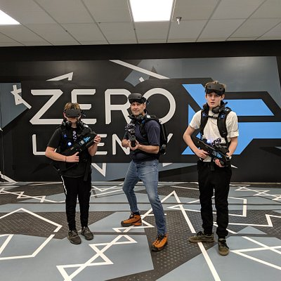 Zero Latency VR Experience in Vancouver
