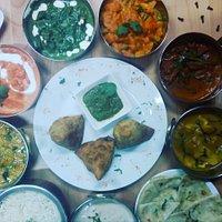 Bollyfood mejor comida hindu.