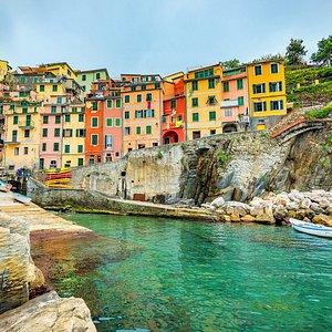 View from Boat Tour Riomaggiore