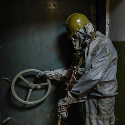 Exploring abandoned cold-war bunker in Kyiv