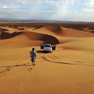 La découverte du Sahara