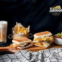 Panini & Sides & Coffee at Savoor