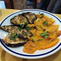 antipasto - verdure grigliate