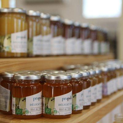 Découvrez tous les produits de la gamme Propolia®, des produits bien-être, hygiène et cosmétiques naturels et bio à base de produits de la ruche créés et fabriqués à Clermont l'Hérault depuis 1979 au sein d'Apimab Laboratoires qui est situé juste à côté de la Miellerie.