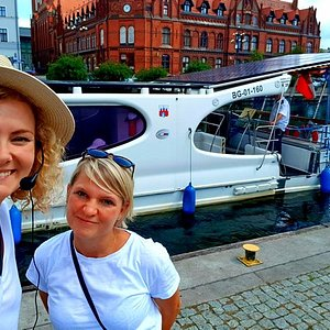 Boat cruises are one of the highlights of Bydgoszcz.