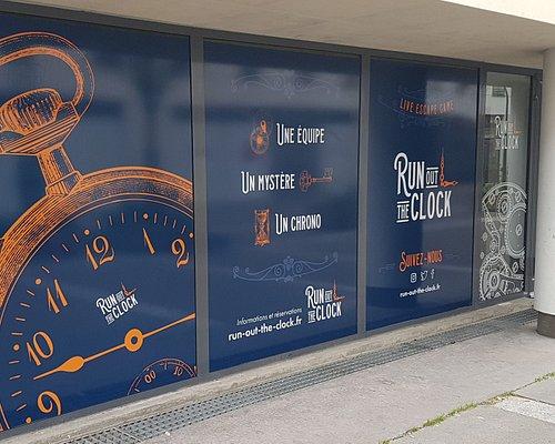 Bienvenue chez Run Out The Clock, live escape game à Paris 15ème