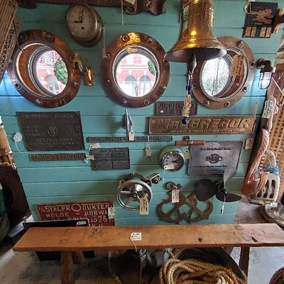 Nautical Antiques and Tropical Decor is the real name of this place. It's excellent. You must go.