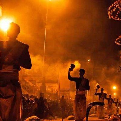Ganga Aarti ceremony at Varanasi