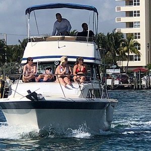 Heading to Lake Boca with a narrated tour along the way!