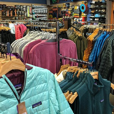 Patagonia, Under Armour, Kuhl, Techstyles, Dovetail & LAndway are just a few of the brands that you will find everyday in our Store!