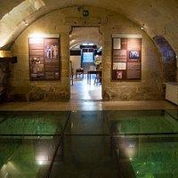 Sala delle volte a botte - Barrel vault room