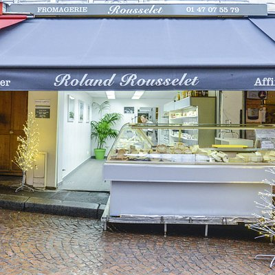 Roland Rousselet  Fromager ~ Affineur