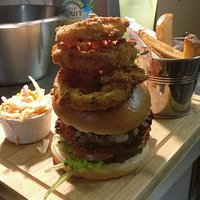 Nigels Fresh Food Kitchen presents The Ultimate Burger. You just have to come and try it!!