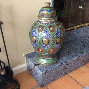 Unique ceramique pot