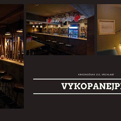Nově otevřený bar v centru Vrchlabí.  -Stylové a čisté prostředí -Oddělený taneční parket -Možnost posezení pro větší skupiny -Vstup zdarma a pouze pro dospělé