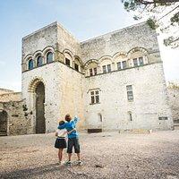 Château de Montélimar - Fenêtres à arcades