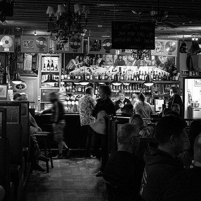 Pub Grönan the local pub and live music venue in Hanko, Finland.
