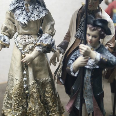 miniatures of Jewish wedding in old Worms