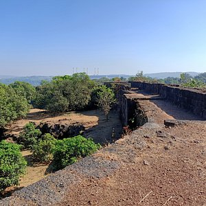 AnjanWale or Gopalgad Fort view