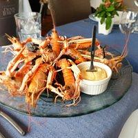 Das ist denn eher die Variante für den Liebhaber von Meeresfrüchten... mich.. schmeckte grossartig....