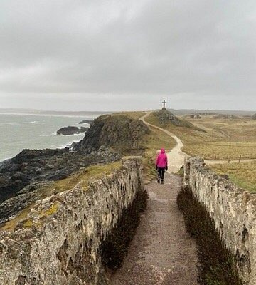 Windy but still a lovely walk on a drizzly February day!