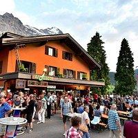 Strassenfest, Avocado Bar, Grindelwald Switzerland