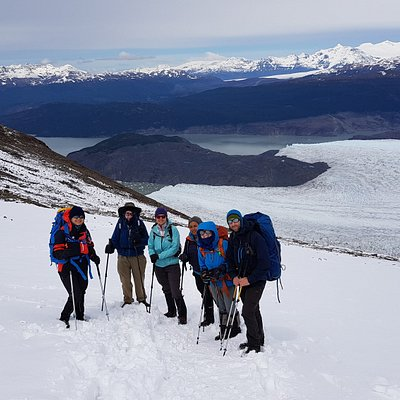 Glaciar grey  - Paso John Garner