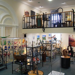 Old Courthouse Gallery, Ambleside. Inside upstairs.