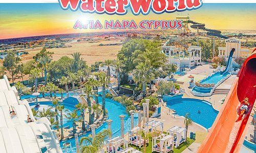 WaterWorld, Ayia Napa Cyprus. Attraction